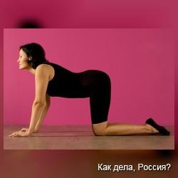 Комплекс утренней гимнастики для полных женщин