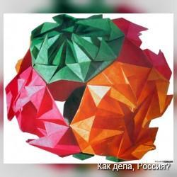Кусудама - в переводе с японского «лекарственный шар» + видео