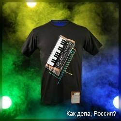 Необычные музыкальные футболки (фото+видео)